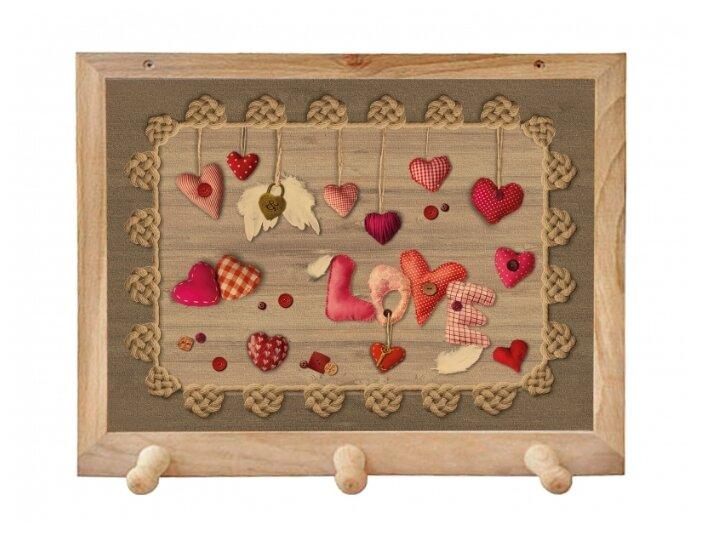 Вешалка Gift'n'Home для полотенец Сердечки любви