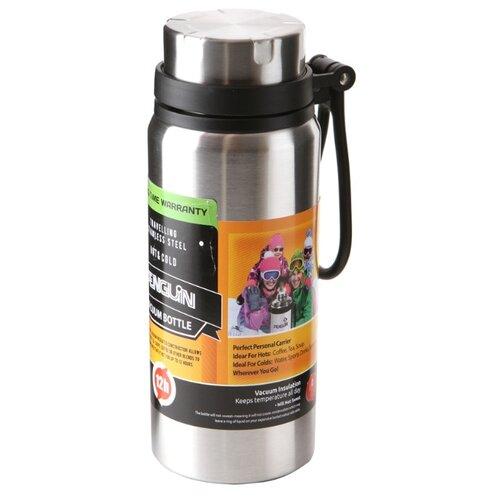 Классический термос Penguin BK-74 (0,6 л) серебристый термос для еды penguin bk 100 0 75 л стальной
