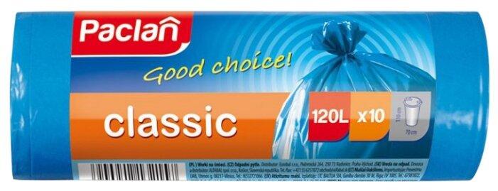 Мешки для мусора Paclan 120 л (10 шт.)