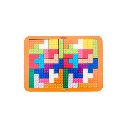Купить Головоломка Woodland Тетрис большой (065108) разноцветный, Головоломки