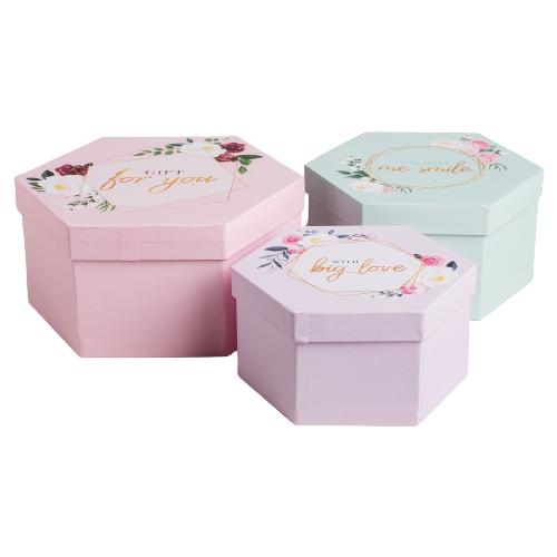 Фото - Набор подарочных коробок Дарите счастье Нежность, 3 шт. розовый набор подарочных коробок дарите счастье нежность 3 шт розовый