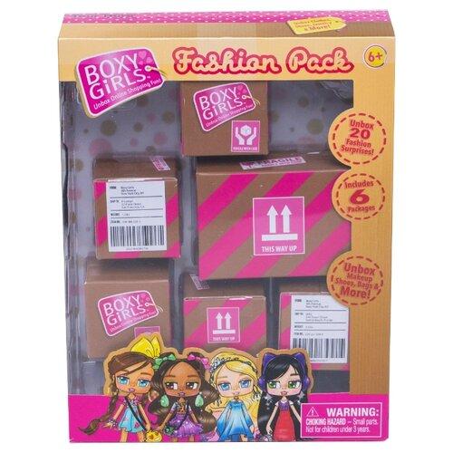 Купить Набор аксессуаров 1 TOY Набор из 6-ти посылок с аксессуарами для кукол Boxy Girls Т15111, Аксессуары для кукол