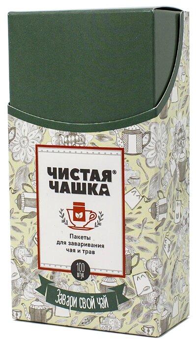 Фильтр-пакеты для заваривания Чистая Чашка 1605 белый