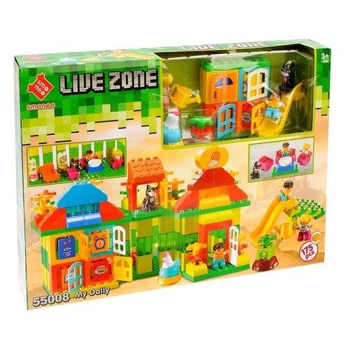 Купить Конструктор Smoneo Live Zone 55008 Двухэтажный дом, Конструкторы