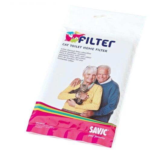 Фильтр для туалета кошек SAVIC Filter черный 1 шт.