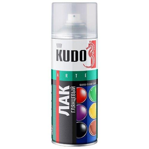 Лак KUDO универсальный глянцевый прозрачный 520 мл astrohim жидкая резина 520 мл прозрачный