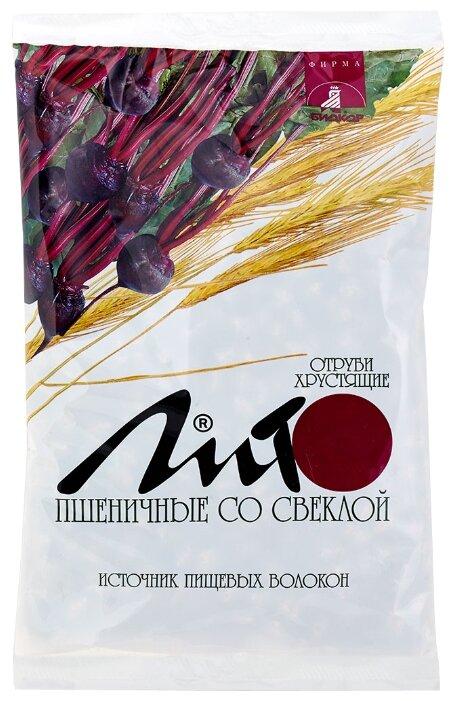 Биологически активная добавка Отруби пшеничные хрустящие с кальцием и свеклой Биокор 200 г