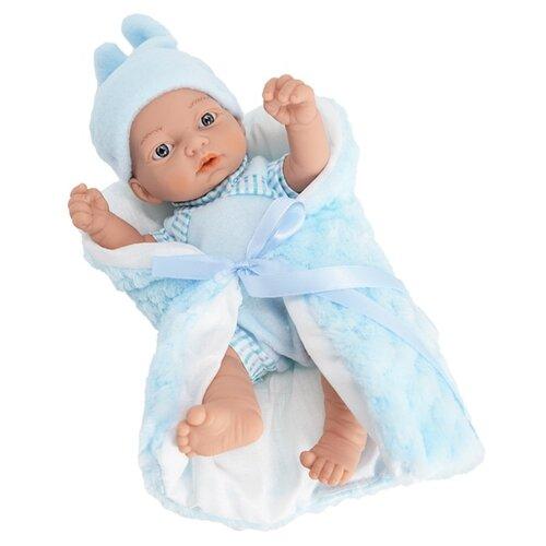 Пупс Munecas Manolo Dolls Arrullo, 27 см, 11014 кукла младенец manolo dolls мягконабивной canguros 30см 4500