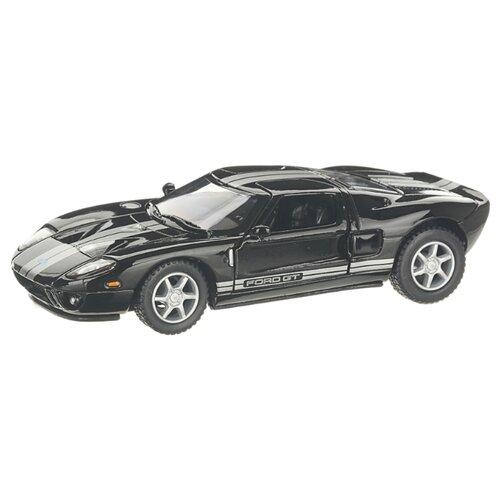 Купить Детская инерционная металлическая машинка с открывающимися дверями, модель Ford GT 2006, черный, Serinity Toys, Машинки и техника