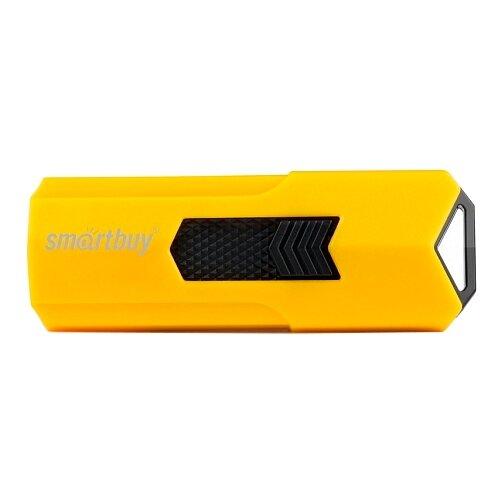 Фото - Флешка SmartBuy Stream USB 2.0 64GB, желтый флешка smartbuy stream usb 2 0 16gb cиний