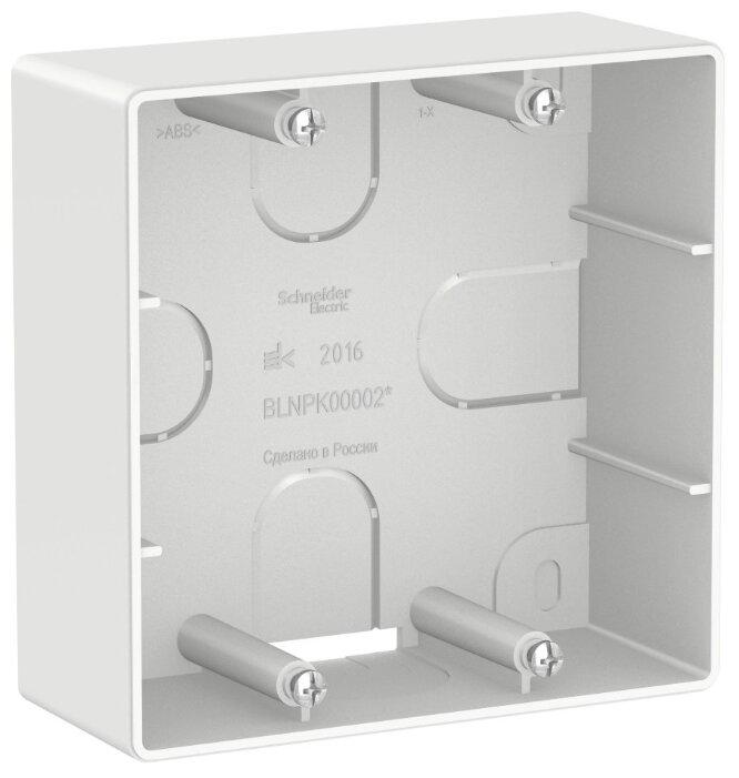 Подрозетник (скрытый монтаж) Schneider Electric BLNPK000021 40 х 100 х 100 мм