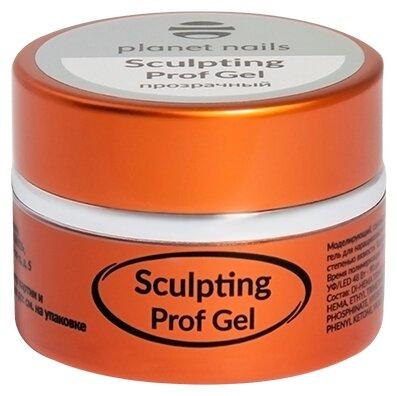 Гель planet nails Sculpting Prof Gel моделирующий, 15 г