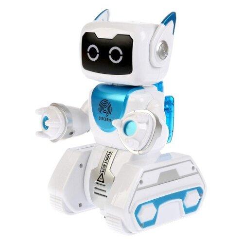 Фото - Робот Zhorya Вольт ZYA-A2751 белый/голубой радиоуправляемый робот zhorya интерактивный белый кот 2059