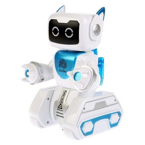 Робот Zhorya Вольт ZYA-A2751, белый/голубой