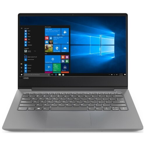 Купить Ноутбук Lenovo Ideapad 330S-14IKB (Intel Core i3 8130U 2200 MHz/14 /1920x1080/4GB/128GB SSD/DVD нет/Intel UHD Graphics 620/Wi-Fi/Bluetooth/Windows 10 Home) 81F400XQRU Iron Grey