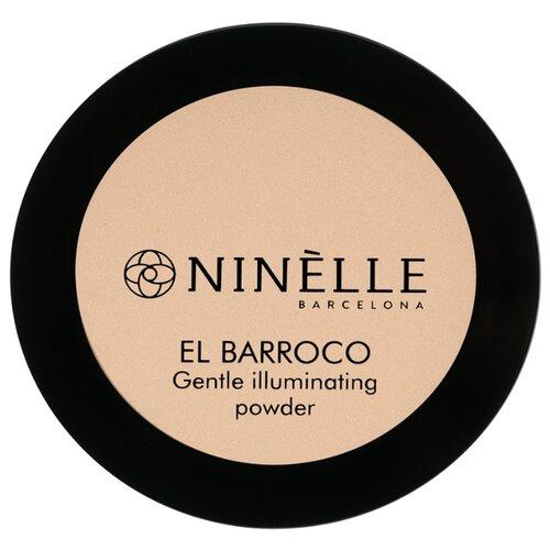 Ninelle Компактная пудра El Barroco 233 карамельный