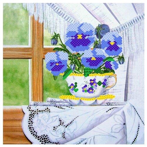 Купить Color Kit Картина из пайеток Анютины глазки (CMD003), Картины из пайеток