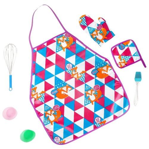 Купить Набор посуды Happy Valley Набор поварёнка 3566259 разноцветный, Игрушечная еда и посуда