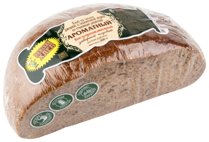 Рижский ХЛЕБ Хлеб Ароматный бездрожжевой заварной подовый 300 г