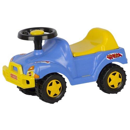 Каталка-толокар СТРОМ Автомобиль (У431) синий стром автомобиль стром пони цистерна