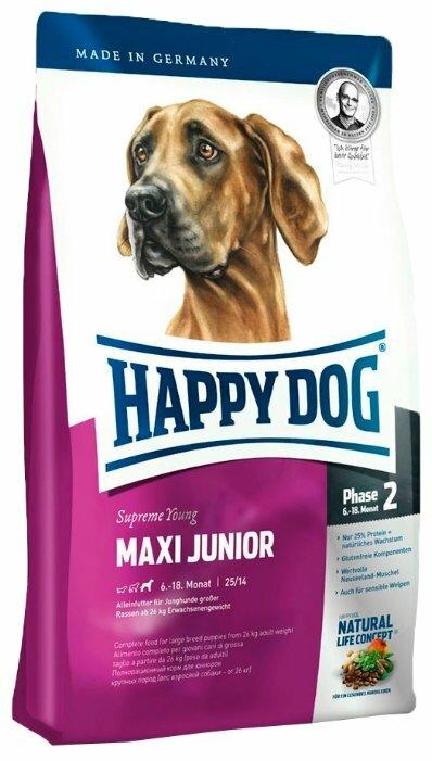Корм для собак Happy Dog Supreme Young GR 25 (для крупных пород)