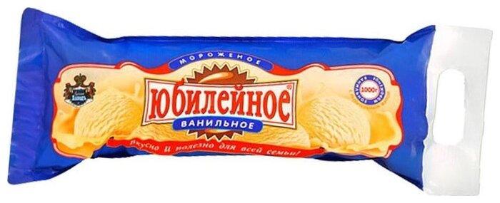 Мороженое Русский Холодъ Юбилейное Домашнее ванильное, 1000г