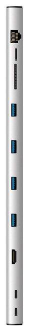 USB-концентратор Rombica Type-C Dock, разъемов: 8