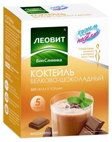 Коктейль Леовит - худеем за неделю Худеем за неделю белково-шоколадный 40г 5