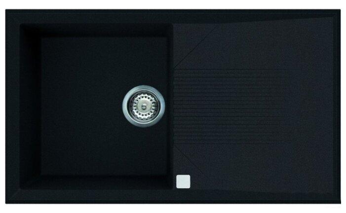 Врезная кухонная мойка smeg LSEQ861 86х50см искусственный гранит