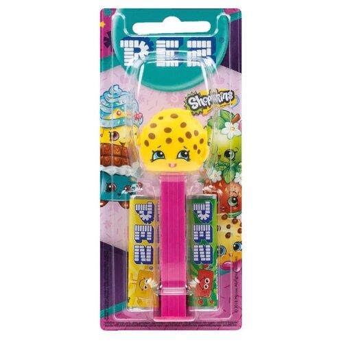 Игрушка с конфетами PEZ ассорти Shopkins 17 г игрушка с конфетами pez вкус ассорти 70 г