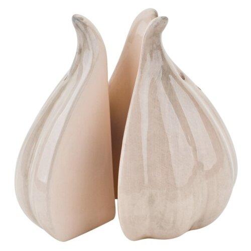 ELFF decor Набор солонка и перечница Чеснок белый открывалка галстук elff ceramics