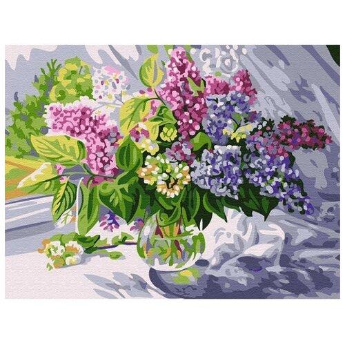 Купить Molly Картина по номерам Маховая сирень 15х20 см (KH0784), Картины по номерам и контурам