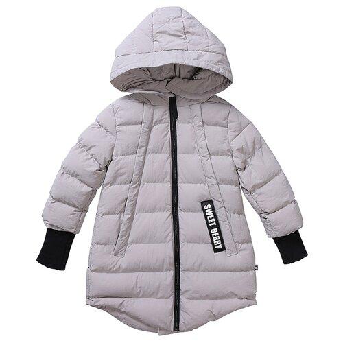 Пальто Sweet Berry 934209 размер 104, светло-серый свитшот sweet berry размер 110 бледно розовый