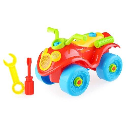 Купить Винтовой конструктор Play Smart с отверткой 1299 Квадроцикл, Конструкторы