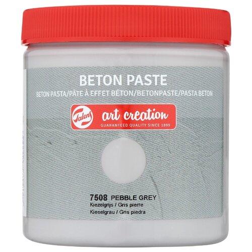 Купить Паста для декорирования с эффектом бетона Art Creation 250мл цв.7508 серая галька, Royal Talens, Краски