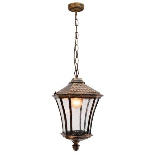 Elektrostandard Уличный подвесной светильник Virgo H GLXT-1450H черное золото уличный настенный светильник elektrostandard 1001u черное золото 4690389073748