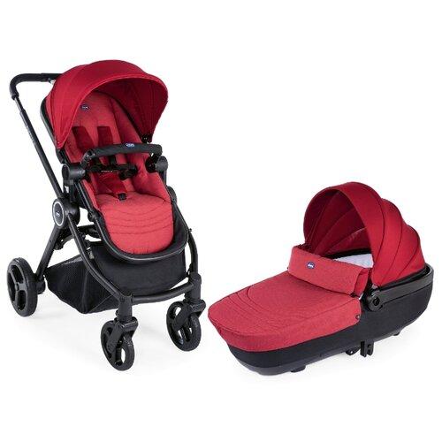 Универсальная коляска Chicco Duo Best Friend (2 в 1) red