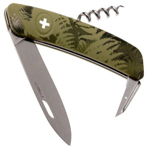 Нож многофункциональный SWIZA C01 Camouflage (6 функций) Silva