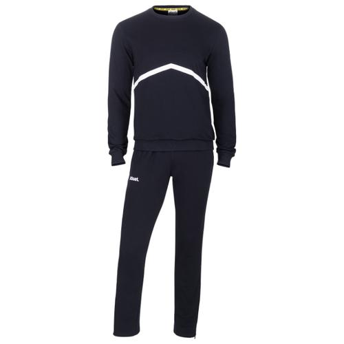 Тренировочный костюм Jogel Jcs-4201-061, хлопок, черный/белый (M)