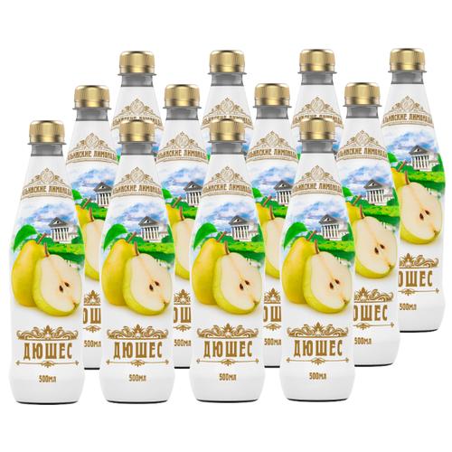 Газированный напиток Ильинские лимонады Дюшес, 0.5 л, 12 шт.