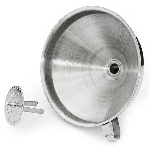 Fissman Воронка со съемным фильтром 8687 14 см нержавеющая сталь