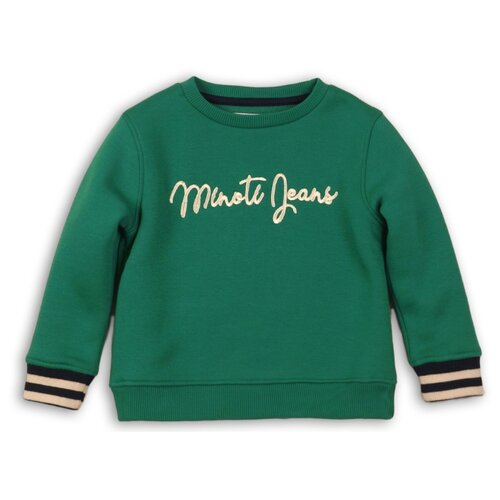Свитшот Minoti размер 6-7л, зеленый брюки minoti размер 6 7л темно зеленый