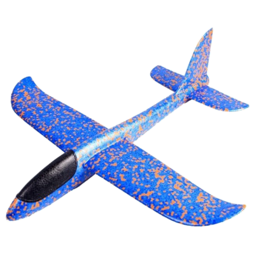 Самолет Taigen.Toys Метательный планер (AIRТ48) 48 см синийМашинки и техника<br>