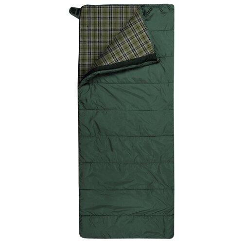 Спальный мешок TRIMM Tramp 185 olive с правой стороны
