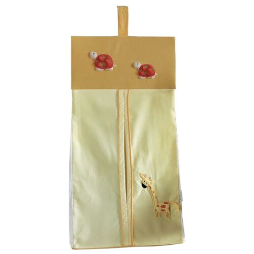 Kidboo Прикроватная сумка My Animals горчичныйОрганайзеры и карманы в кроватку<br>