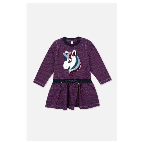 Платье playToday размер 80, темно-синий