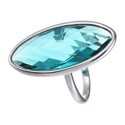 JV Кольцо с ювелирным стеклом из серебра B3160-US-007-WG, размер 17.5 jv кольцо с стеклом из серебра b3160 us 008 wg размер 18