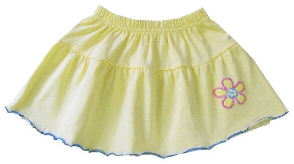 Юбка ПАНДА дети размер 116, желтый