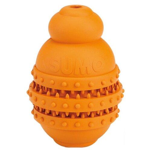 Игрушка для собак Beeztees Sumo Play Dental для зубов S оранжевый