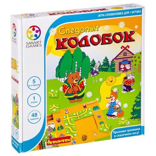 Купить Головоломка BONDIBON Smart Games Следопыт Колобок (ВВ0518), Головоломки